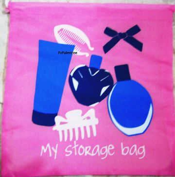 Travel Pink Storage Bag